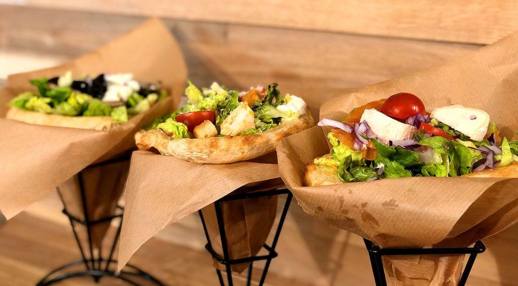 Des pizzas royales sur des cônes : un concept made in Belgium