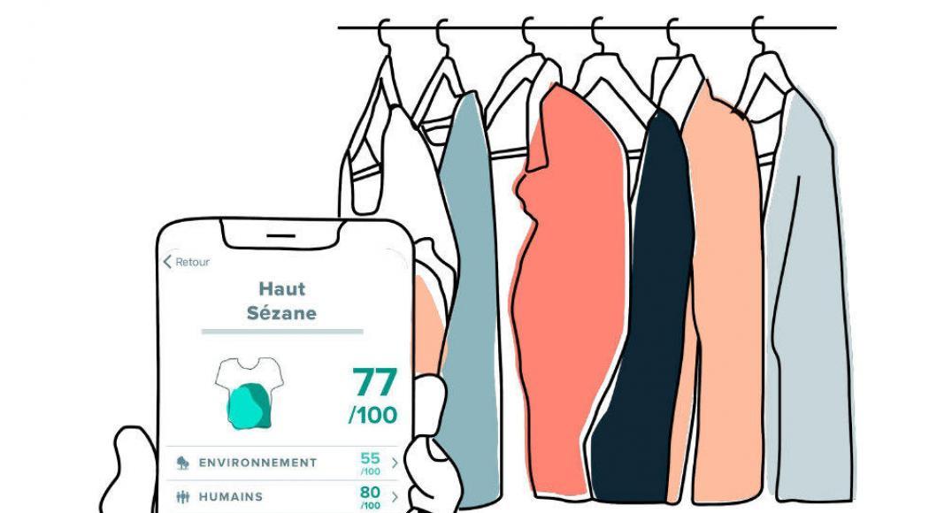 Trois applications pour tout savoir sur vos vêtements