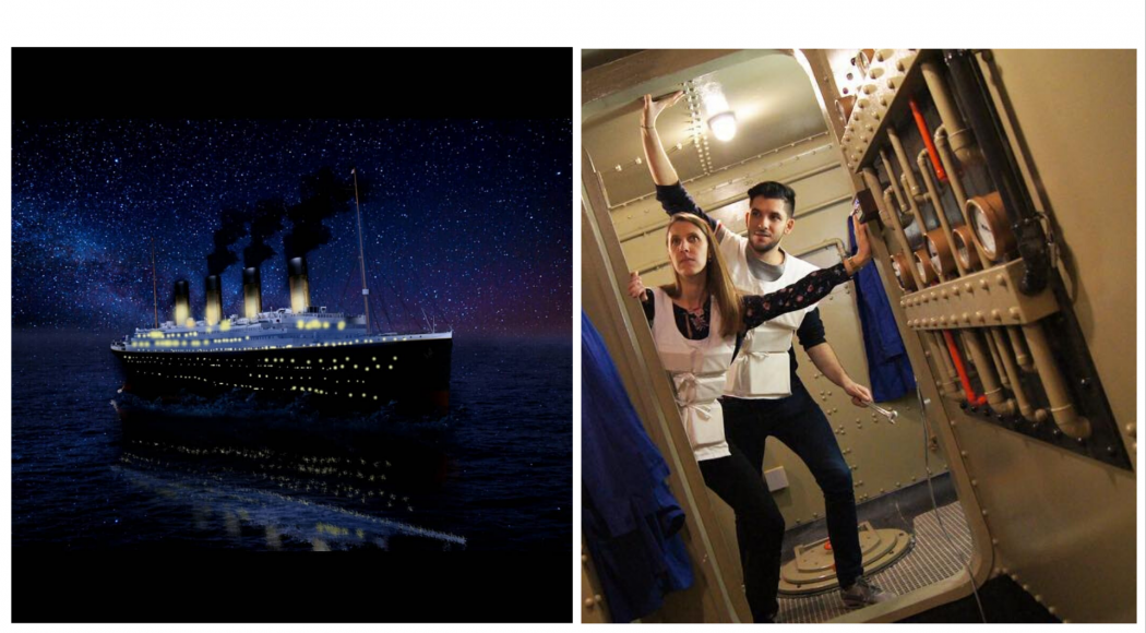 Escape Game: réussirez-vous à ne pas sombrer avec le Titanic?