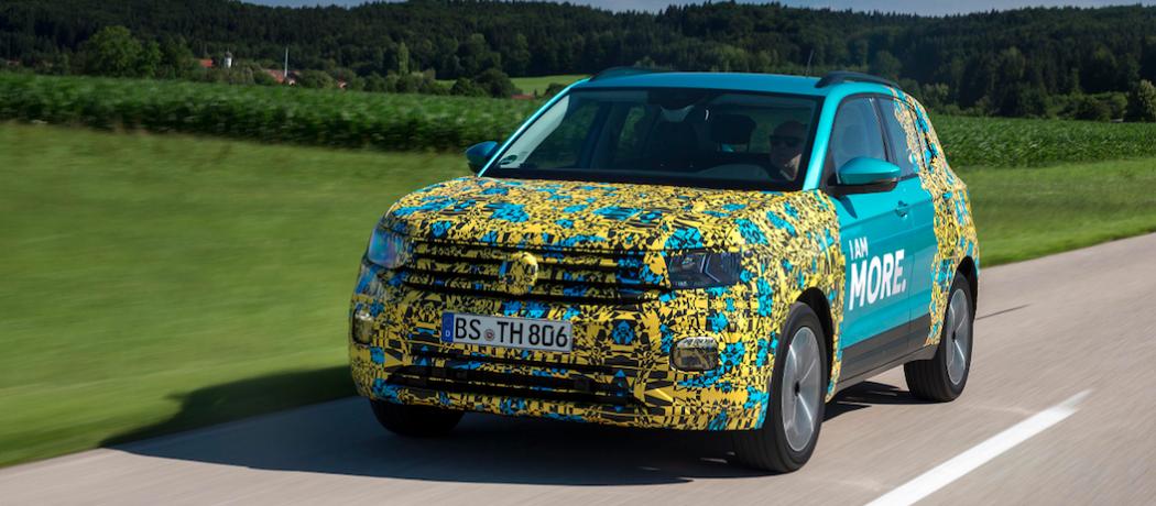 VW T-Cross : L'offre SUV grandit encore