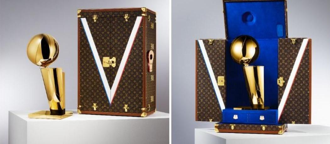 Louis Vuitton signe une malle exclusive pour le trophée de la NBA