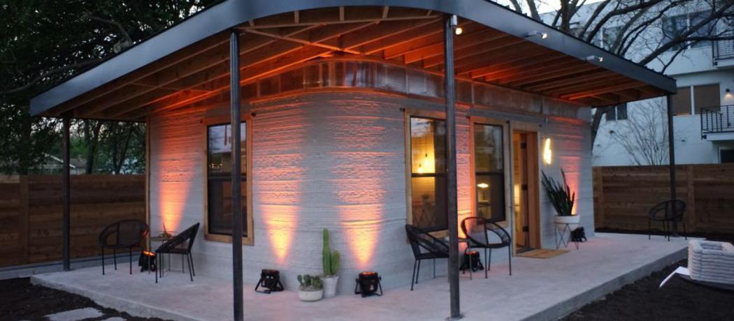 La maison du futur une construction imprim e en 3d pour 3500 euros - Maison du futur bruxelles ...