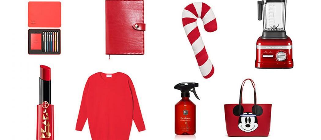 Cadeaux de Noël : notre sélection tout en rouge