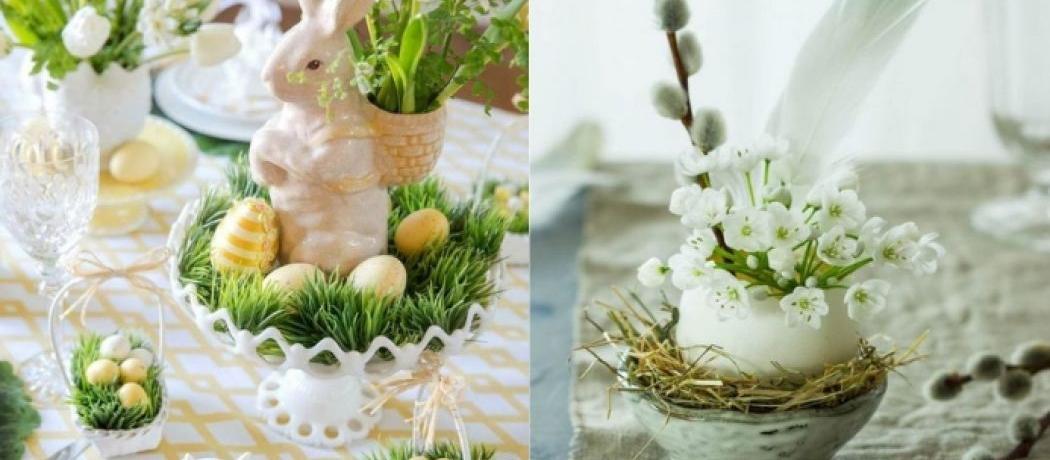 Genial Nos Idées De Décorations DIY Pour Une Table De Pâques Réussie