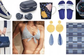 f3010309745 15 pièces bleues à shopper pour l été