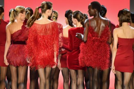 Adoptez un total look rouge pour la Saint-Valentin 75a930904df