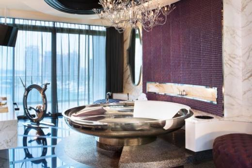 Le top des salles de bains les plus incroyables du monde