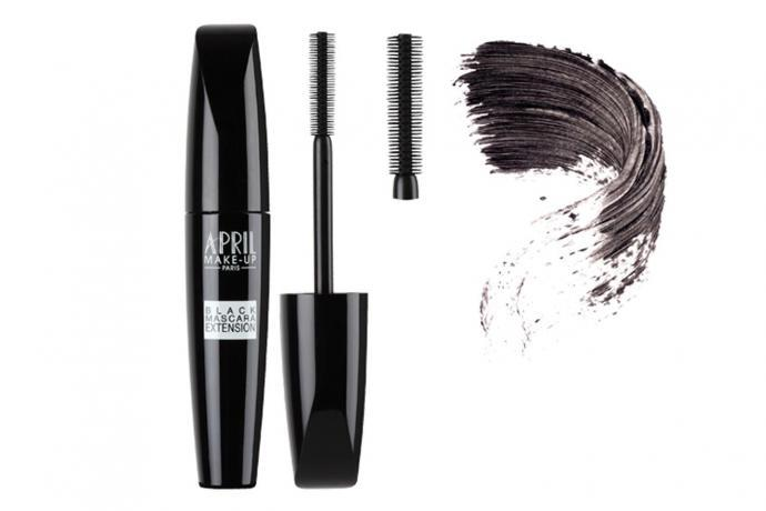 APRIL, Black mascara Extension, 15.95€, en exclusivité chez Planet Parfum
