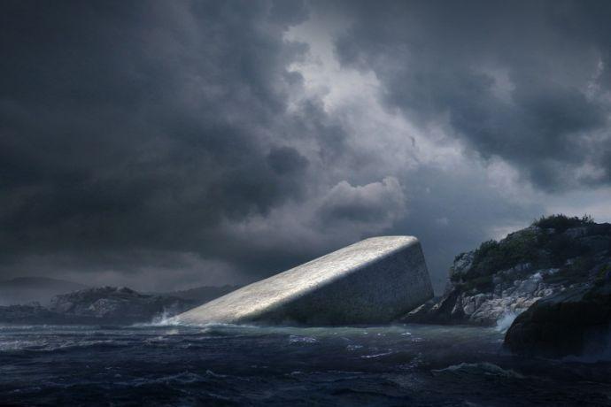 Le premier restaurant sous-marin d'Europe va ouvrir ses portes — Norvège