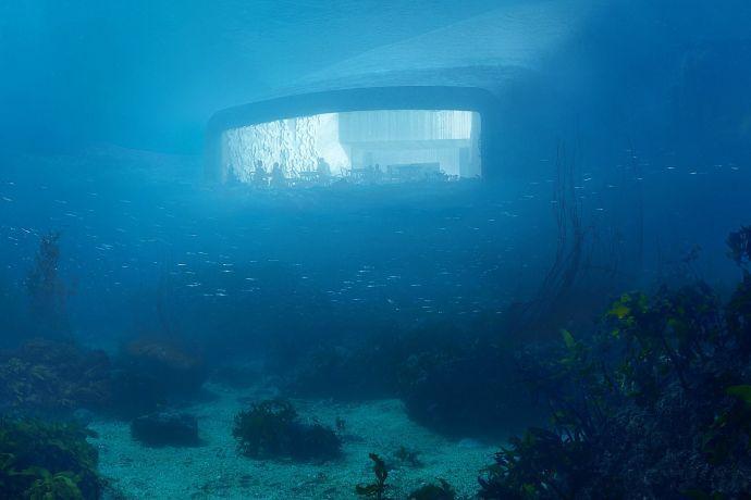 Découvrez le premier restaurant sous-marin d'Europe