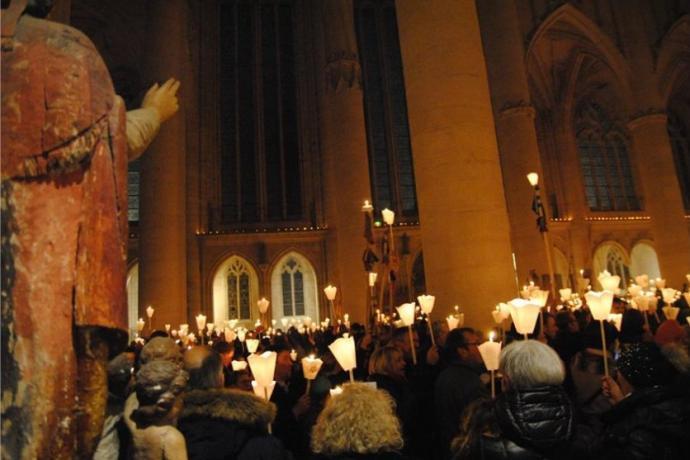 La procession de Saint-Nicolas-de-Port