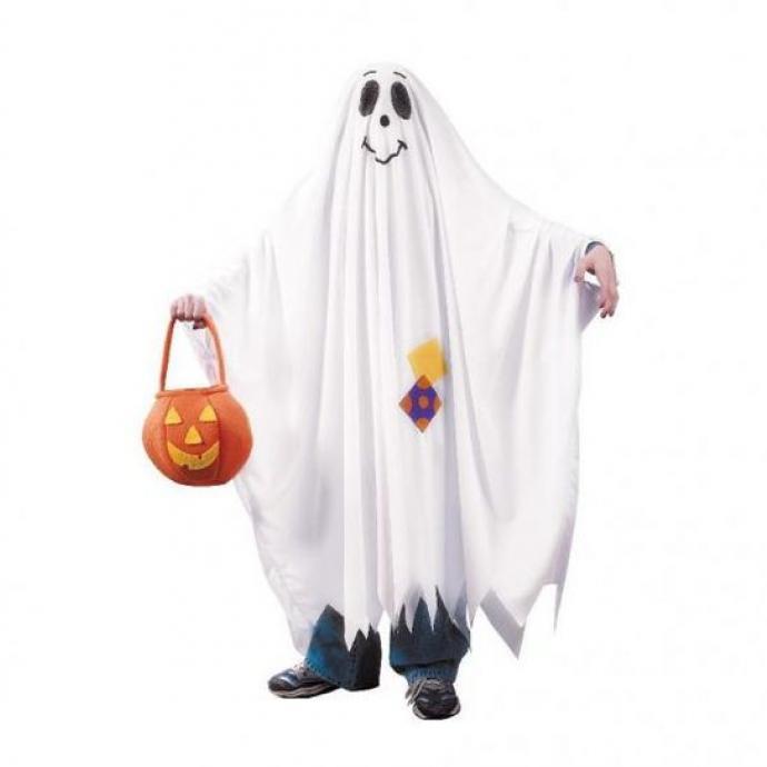 Un déguisement basique, le fantôme