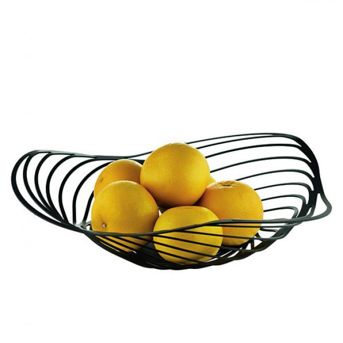 """<strong>Coquillage</strong><br />Corbeille &agrave; fruits et centre de table en r&eacute;sine teint&eacute;e, acier inoxydable ou laqu&eacute;, 4 tailles disponibles. De 63 &euro; &agrave; 170 &euro;, en fonction des mod&egrave;les, mati&egrave;res et finitions. Cr&eacute;ation Adam Cornish pour Alessi<br />(<a href=""""http://www.alessi.com"""" target=""""_blank"""">www.alessi.com</a>: &copy; Alessi)"""