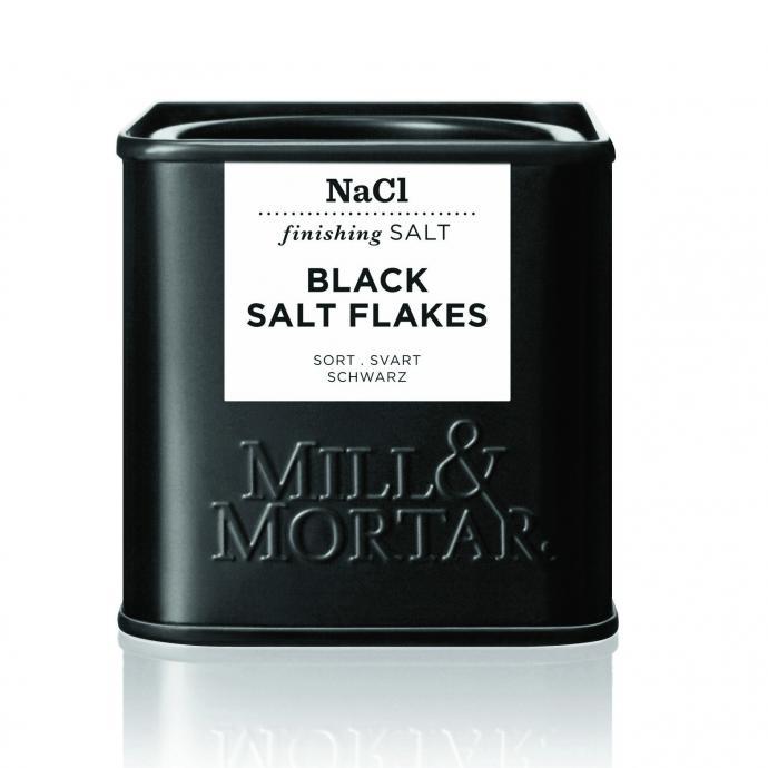 Un sel noir pour pimenter la cuisine, Black Salt Flakes, Mill & Mortar, 5,45€.