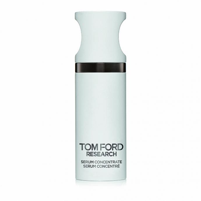 Serum Concentrate, un soin énergisant et affinant à base de caféine et de cacao, Tom Ford Research, 310 €.