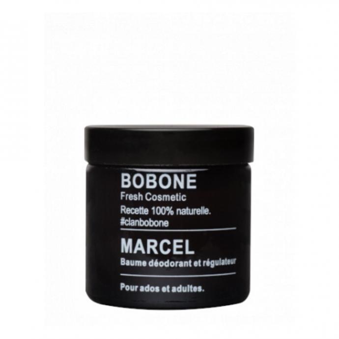 Baume déodorant et régulateur Marcel, Bobone, 22,50 € pour 60 ml.