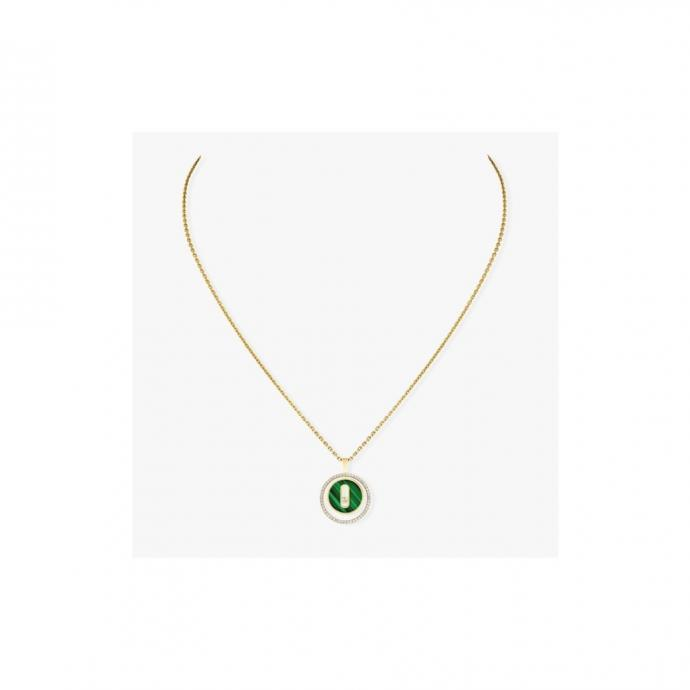 Collier Lucky Move en or jaune, Messika, 2480 €