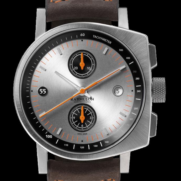 41 mm, mouvement automatique chronographe Valjoux 7750. Prix : 3.950 €