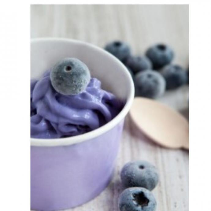 """Le yaourt glac&eacute; aux myrtilles. D&eacute;couvrez la recette&nbsp;<a href=""""https://www.supertoinette.com/recette/5457/yaourt-glace-aux-myrtilles.html"""" target=""""_blank"""">ici.</a>&nbsp;"""