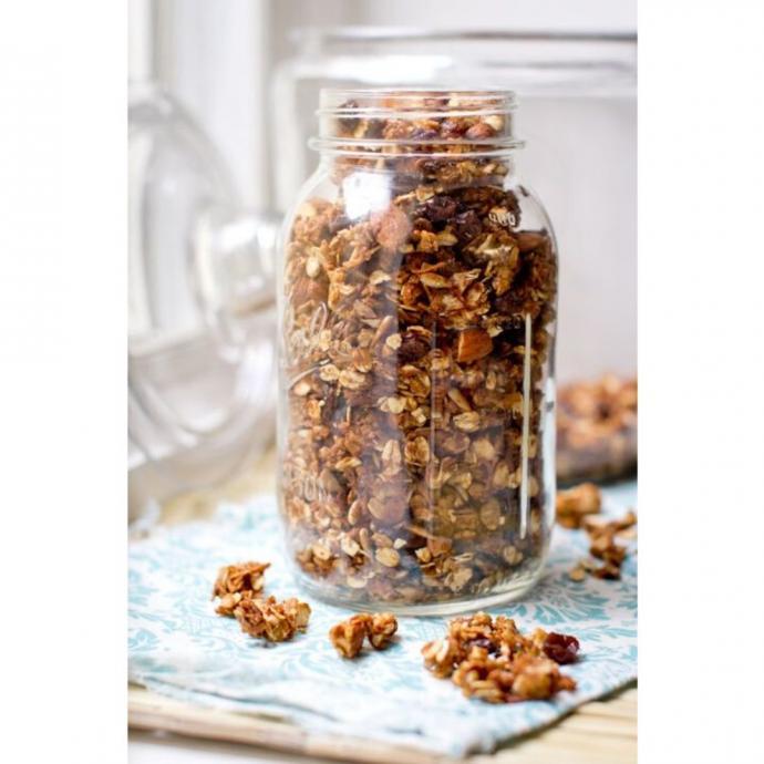 """Un granola sans sucre ajout&eacute;. <em>D&eacute;couvrez la recette i<a href=""""http://www.leslouves.com/recette-granola-sans-sucre/"""" target=""""_blank"""">ci.</a>&nbsp;</em>"""