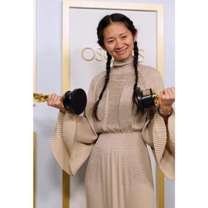 ChloeZao en Hermès