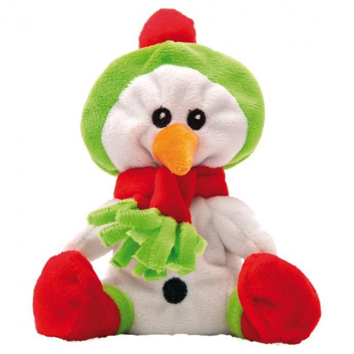 Sous ses airs du bonhomme de neige Olaf, cette mignonne peluche est un compagnon idéal pour votre chat. Garni de racine de valériane pharmaceutique, elle divertira et réconfortera votre boule de poil grâce à ses effets dépresseurs.