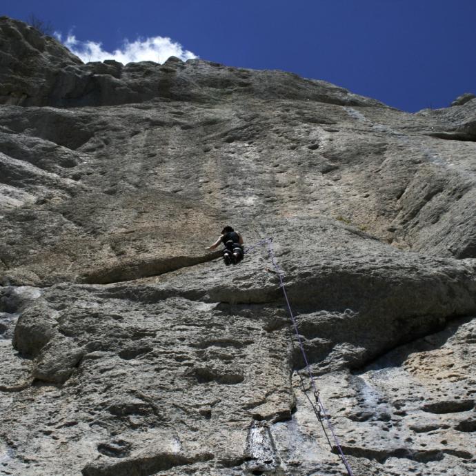 Céüze: dans les Hautes-Alpes. Le Massif de Bochaine est une référence.©Flickr - Helen Cassidy.