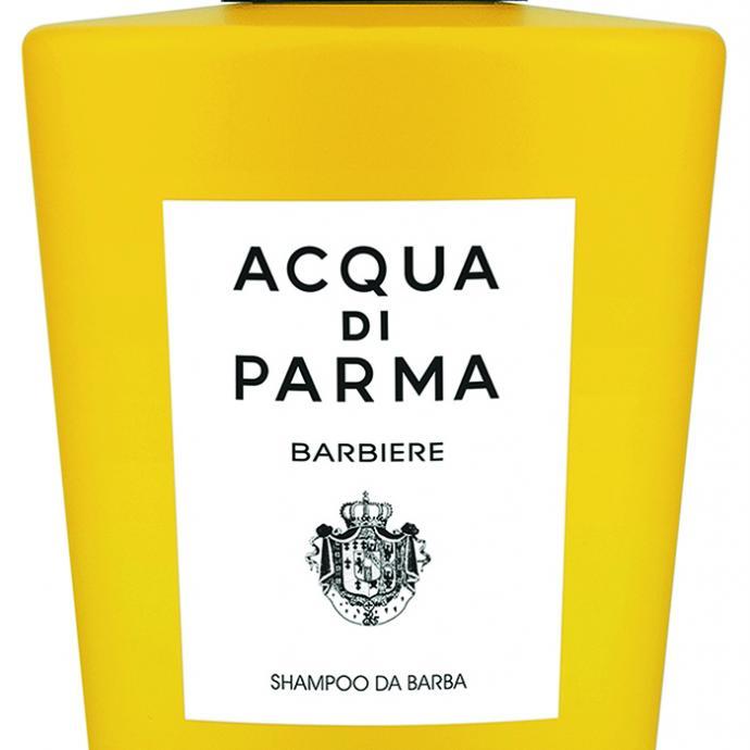 <strong>Un savon pour sa barbe </strong>: Beard wash, Acqua di Parma, 34&euro;