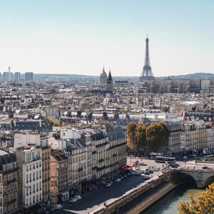 1. Paris&nbsp;<br />Credits: unsplash/alexander kagan
