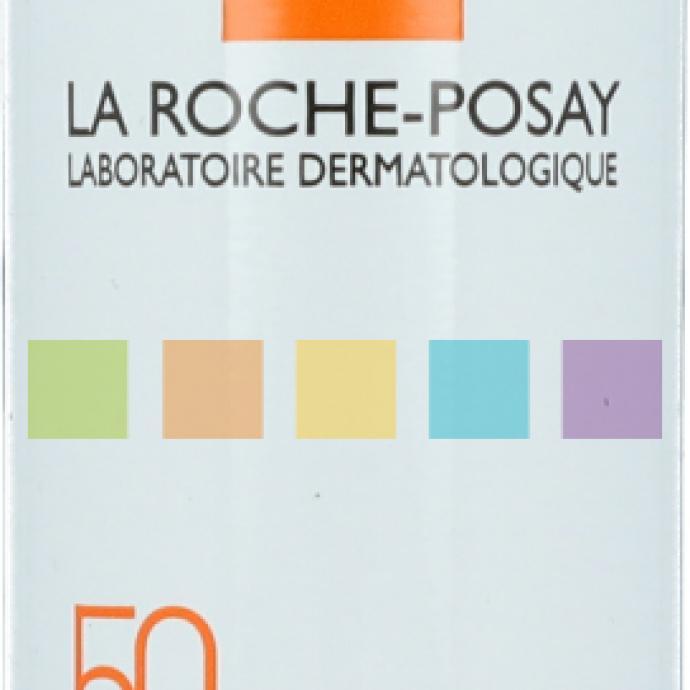 Anthélios, Brume fraîche invisible, SPF50, La Roche Posay, 13,50€.