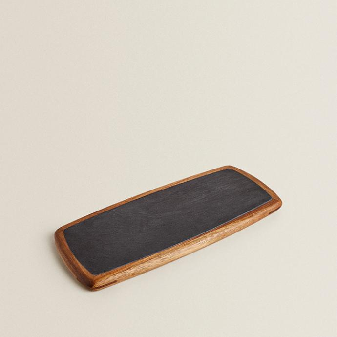 Ardoise de présentation, Zara Home, 29,99€.