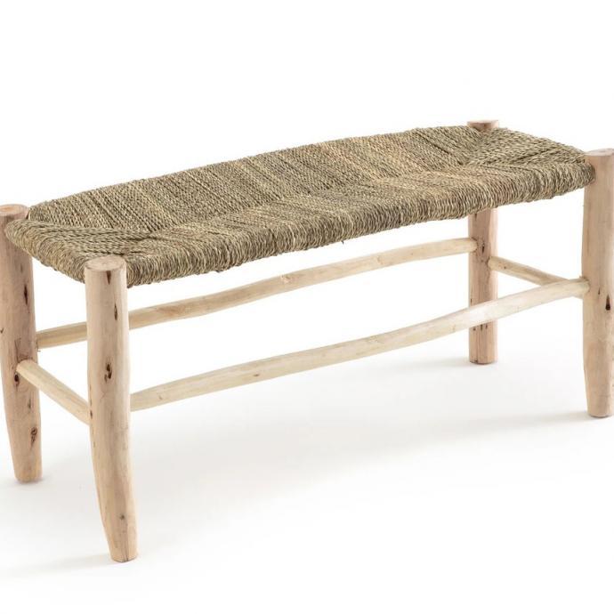 Banc Ghada en bois de saule, La Redoute, 179€