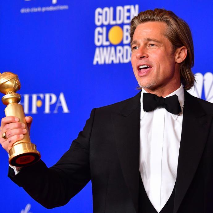 Vainqueur du Golden Globe du meilleur second rôle pour « once Upon a time…In Hollywood », Brad Pitt a fait sensation également sur le tapis rouge grâce à sa tenue signée David Yurman et ses bijoux Fred Leighton.
