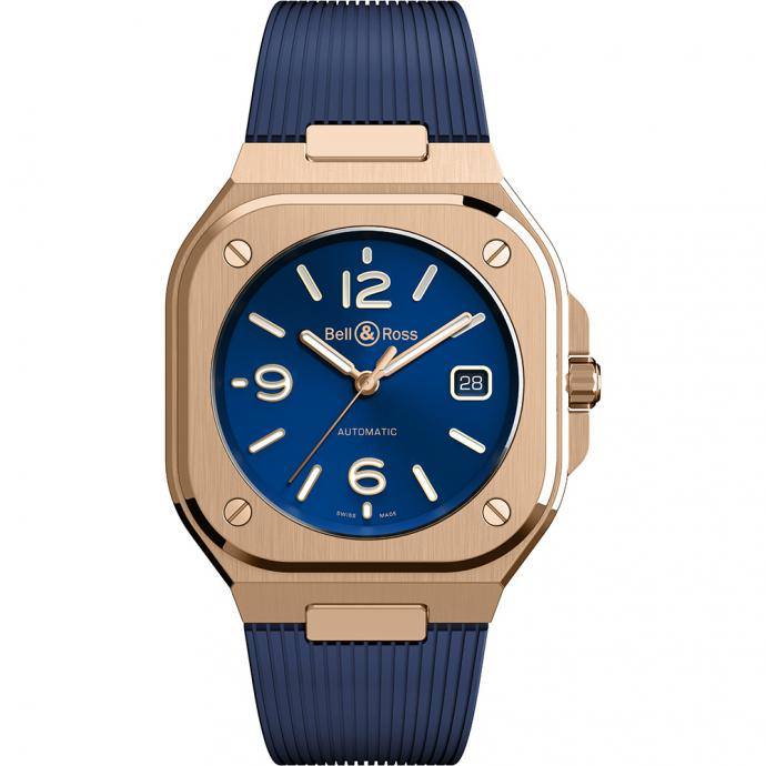 Montre BR05 automatic gold, Bell&Ross, 19 900€.