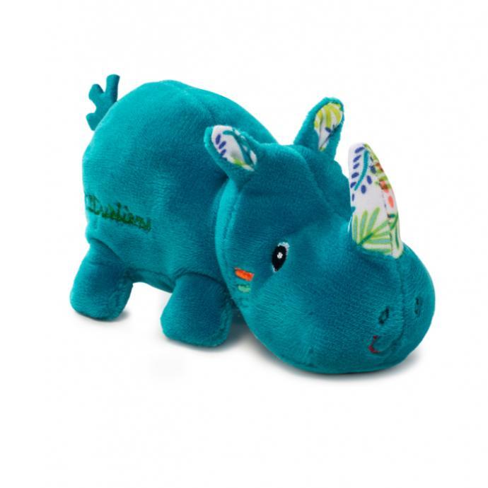 Peluche rhinoceros, Les Liliputiens, 6,99 €.
