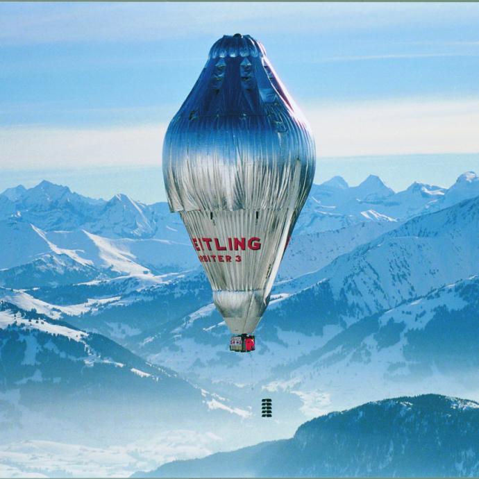 Le ballon de Bertrand Picard et la montre <strong>Cockpit B50 Orbiter</strong>