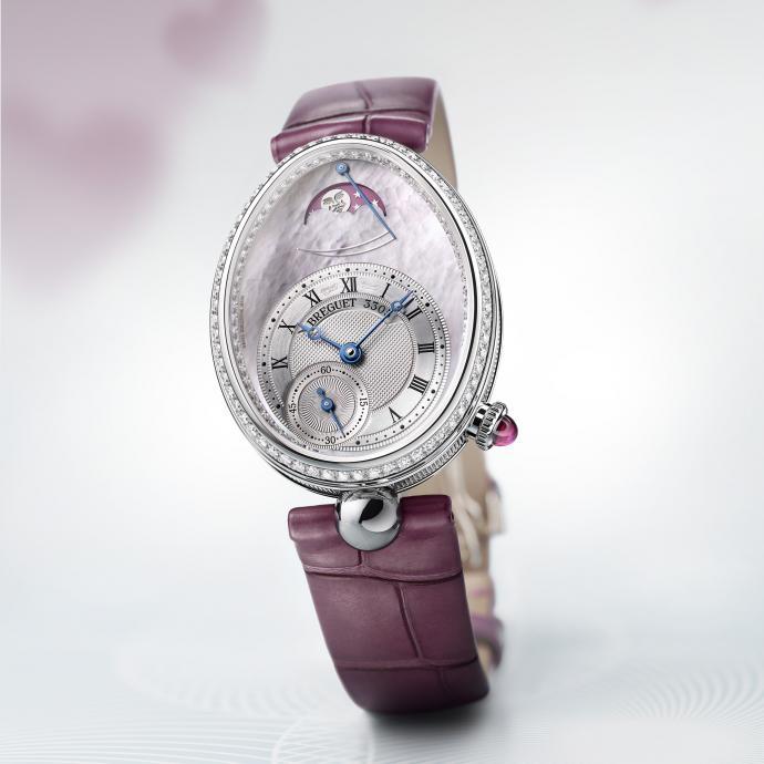 Une montre prestigieuse toute en élégance qui conviendra à celles qui aiment un minimum d'artifices. Série spéciale limitée à 28 pièces.