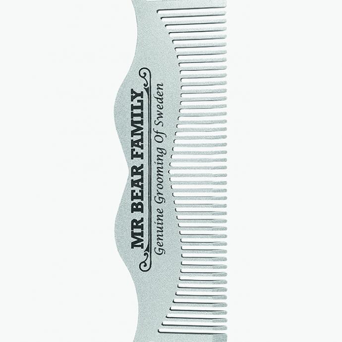<strong>Un joli peigne &agrave; barbe</strong> : Peigne &agrave; moustache, Mr Beard family, 26,95&euro; sur Zalando