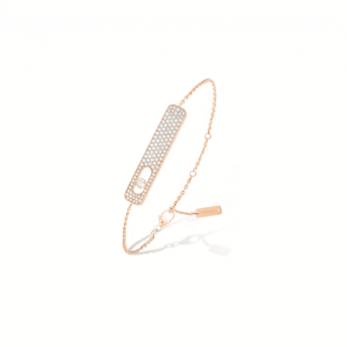 Bracelet My First GM Pavé, Messika, 1790 €.