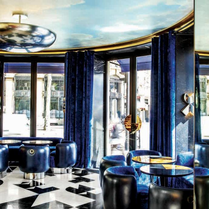 """J'aime y donner mes rendez-vous de travail.<br />1-3, place de la Bastille, 75004. <a href=""""http://www.cafe-francais.fr"""">www.cafe-francais.fr</a>"""