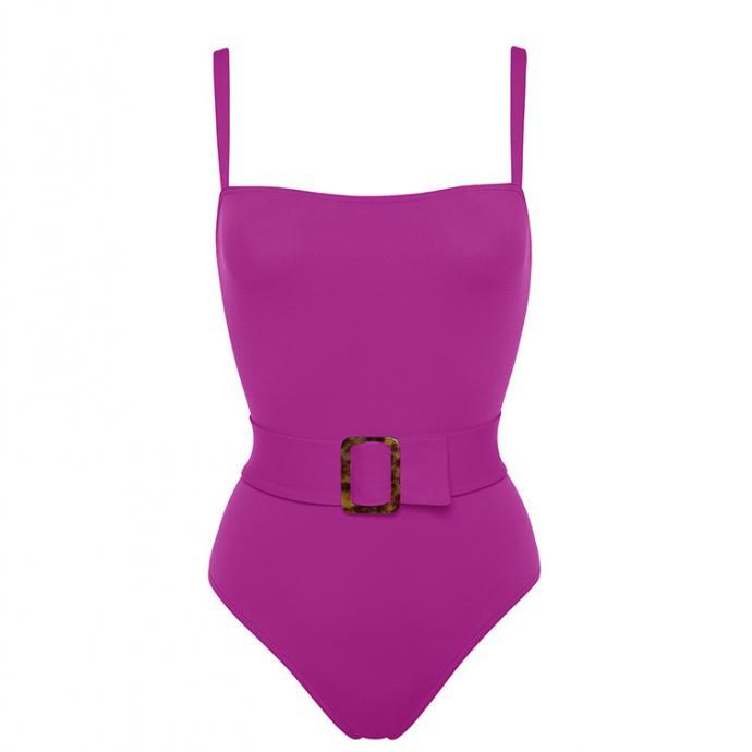 Maillot Guilty violet avec ceinture, Eres, 380€