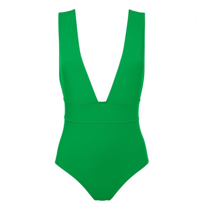 Maillot Pigment, vert vif, Eres, 350 €