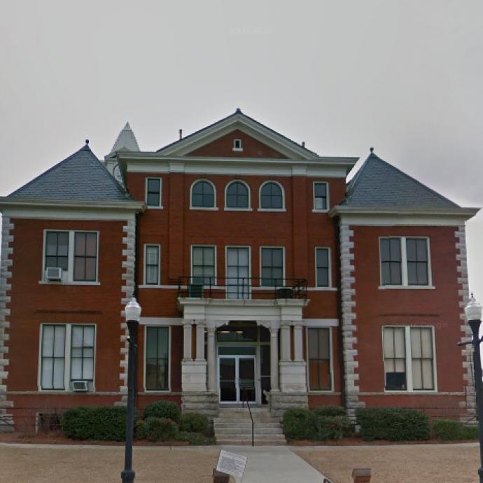 C'est dans la Cour de Probation de Jackson que la production a trouvé les murs de la bibliothèque.