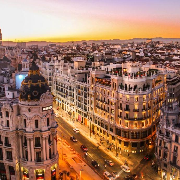 9. MadridCrédit: unsplash/florian wehde