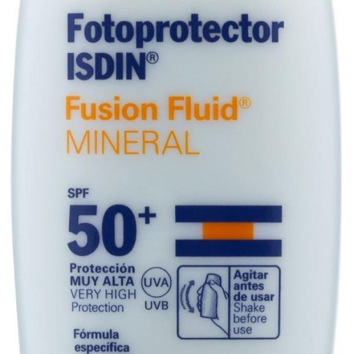 Fotoprotector, Fusion Fluid Mineral, SPF50, 27,12€.