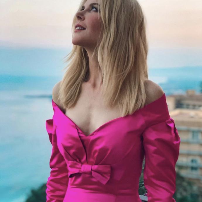 <em>Nicole Kidman portant une tenue sign&eacute; Olivier&nbsp;Theyskens</em>