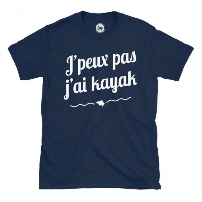 "T-Shirt bleu, en vente sur <a href=""http://www.lapatate.be"" target=""_blank"">www.lapatate.be</a>"
