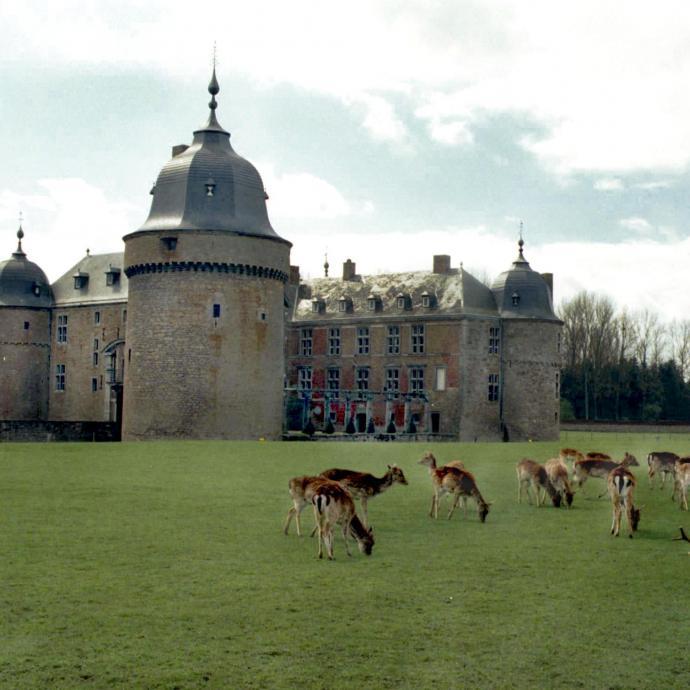 """Avec trois mus&eacute;es, un parc rempli de daims, des jardins, cet &eacute;difice, situ&eacute; non loin de Rochefort, est un lieu de promenade parfait en famille. Les enfants peuvent y recevoir un d&eacute;guisement pour visiter les lieux. <a href=""""www.chateau-lavaux.com/"""" target=""""_blank"""">Plus d&#39;infos ici</a> <em>(Photo Le Soir-G. LIbert)</em><br />&nbsp;&nbsp;"""