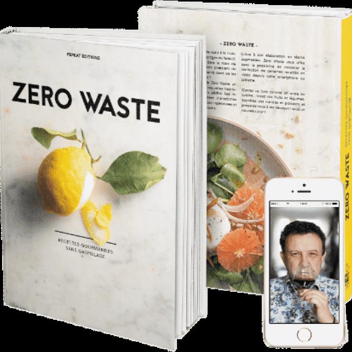 "Livre de recettes ""Zero Waste"", Pepeat Editions, 29,95 euros."