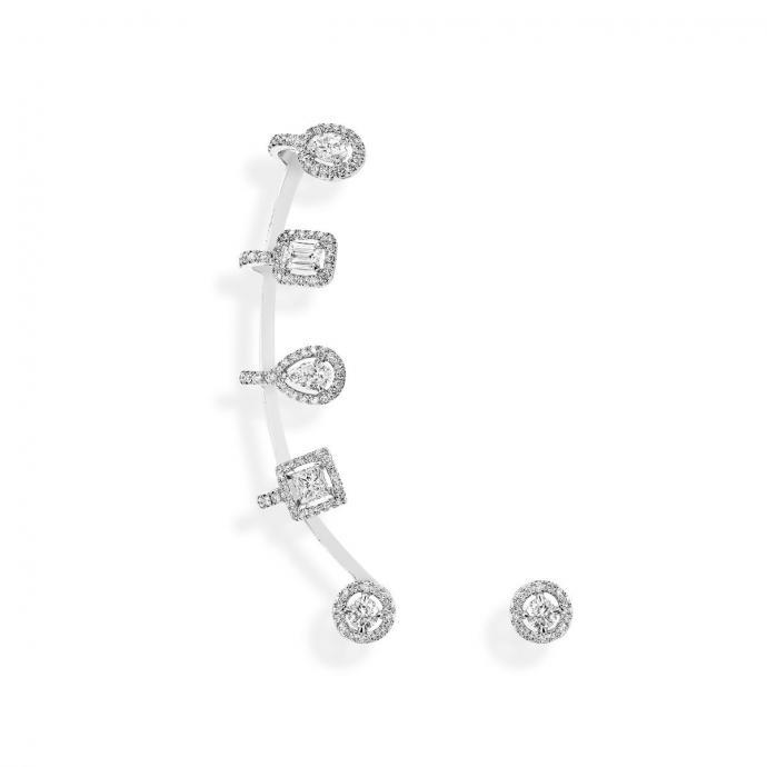 Sans aucun doute le plus luxueux des ear cuff, ce petit bijou précieux vous donnera une allure des plus audacieuses.